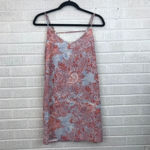 Eight Sixty Paisley Printed Dress - Size Small